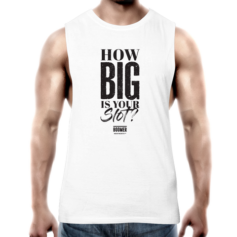 WENTWORTH - Mens Tank Top Tee - Boomer Quote