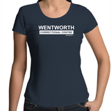 WENTWORTH - Womens Scoop Neck - Logo Large