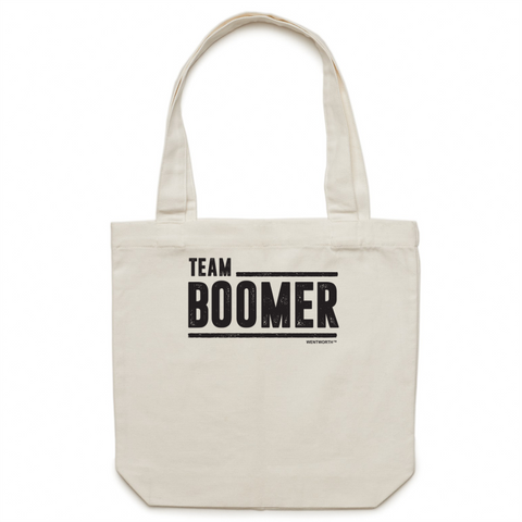 WENTWORTH - Canvas Tote Bag - Team Boomer