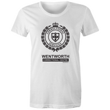 WENTWORTH - Womens Crew T-Shirt - Logo Lockup