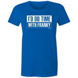 WENTWORTH - Womens Crew T-Shirt - Time with Franky