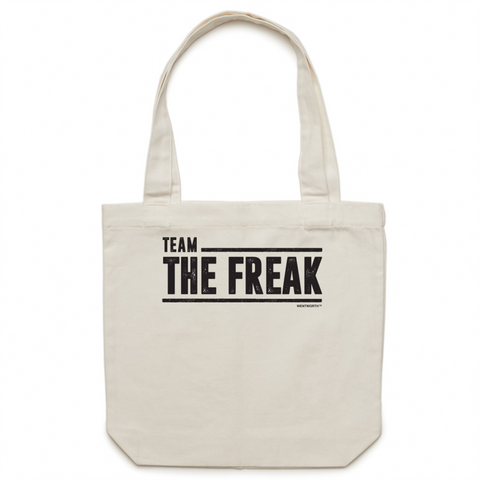 WENTWORTH - Canvas Tote Bag - Team The Freak