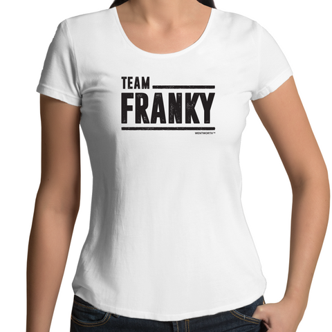 WENTWORTH - Womens Scoop Neck - Team Franky