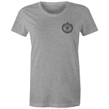 WENTWORTH - Womens Crew T-Shirt - Pocket Logo