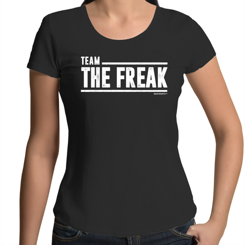 WENTWORTH - Womens Scoop Neck- Team The Freak