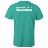 WENTWORTH  - Mens T-Shirt- Dual Logo
