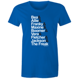 WENTWORTH - Womens Crew T-Shirt - Inmate Names