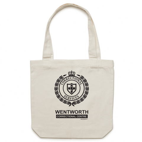 WENTWORTH - Canvas Tote Bag - Logo Lockup