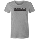 WENTWORTH - Womens Crew T-Shirt - Logo Large