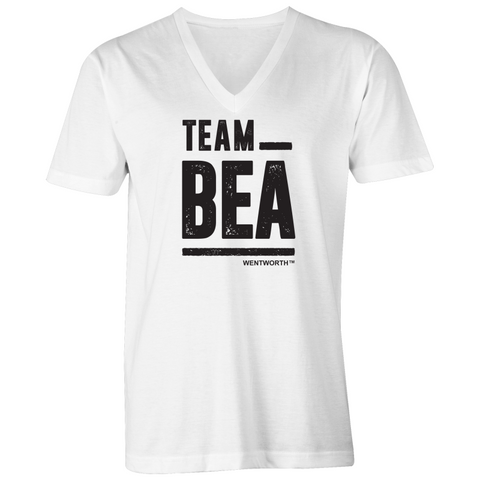 WENTWORTH - Mens V-Neck Tee - Team Bea