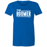 WENTWORTH - Womens Crew T-Shirt - Team Boomer
