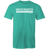 WENTWORTH  - Mens T-Shirt- Logo Large