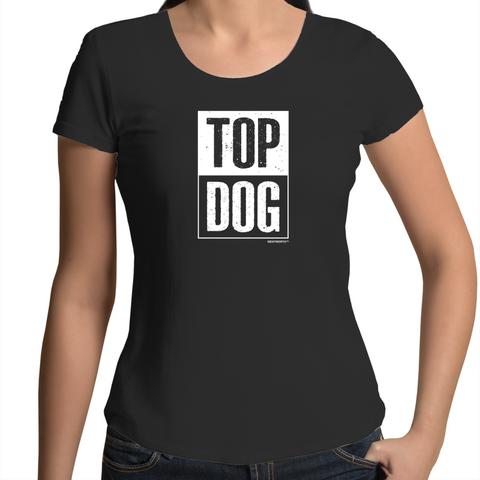 WENTWORTH - Womens Scoop Neck- Top Dog