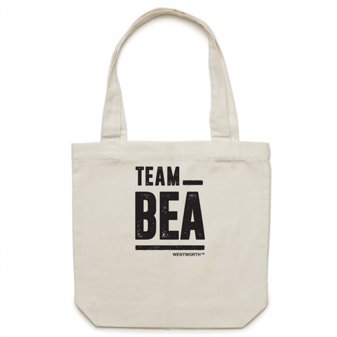WENTWORTH - Canvas Tote Bag - Team Bea