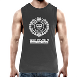 WENTWORTH - Mens Tank Top Tee - Logo Lockup