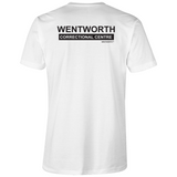 WENTWORTH - Mens V-Neck Tee - Dual Logo