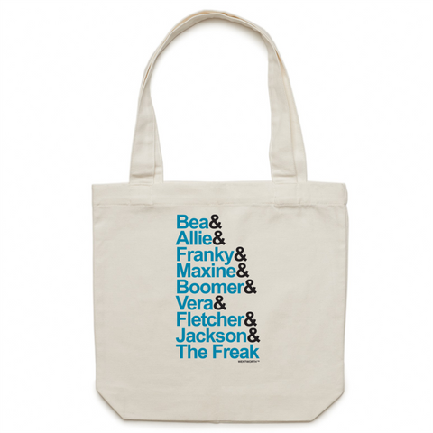 WENTWORTH - Inmate Names - Canvas Tote Bag