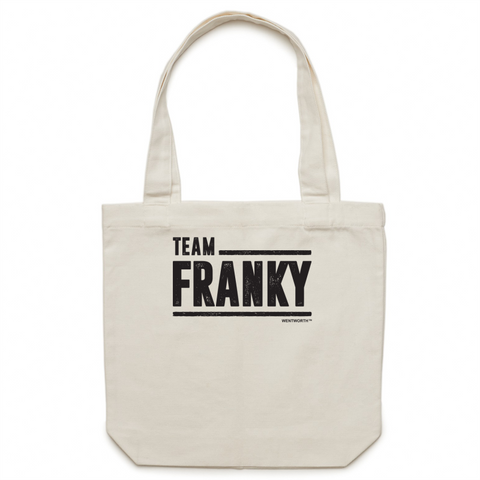 WENTWORTH - Canvas Tote Bag - Team Franky
