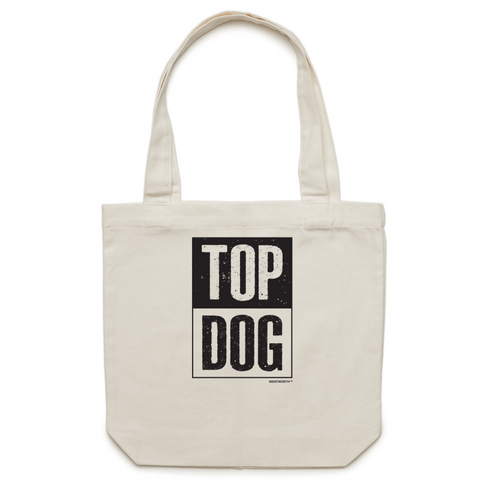 WENTWORTH - Canvas Tote Bag - Top Dog