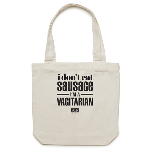 WENTWORTH - Canvas Tote Bag - Franky Quote