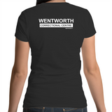 WENTWORTH - Womens Scoop Neck - Dual Logo
