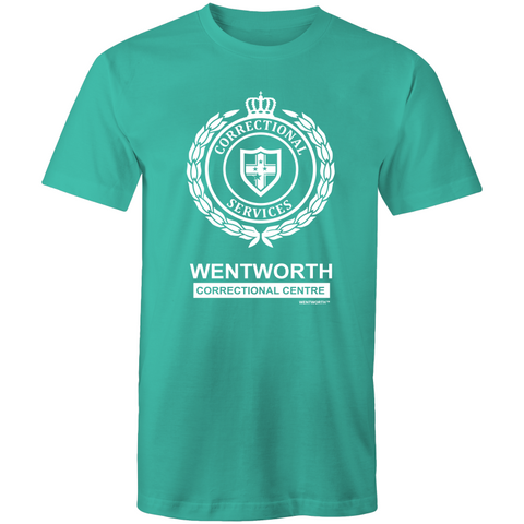 WENTWORTH - Mens T-Shirt - Logo Lockup