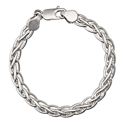 Handmade Silver Chain Bracelet - Paul Wright Jewellery