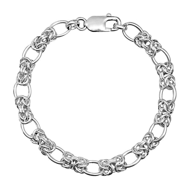 Handmade Silver Link Chain Bracelet - Paul Wright Jewellery