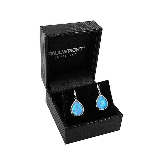 Handmade Opal Earrings - Paul Wright Jewellery