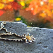 Silver Daisy Necklace 13mm - Paul Wright Jewellery