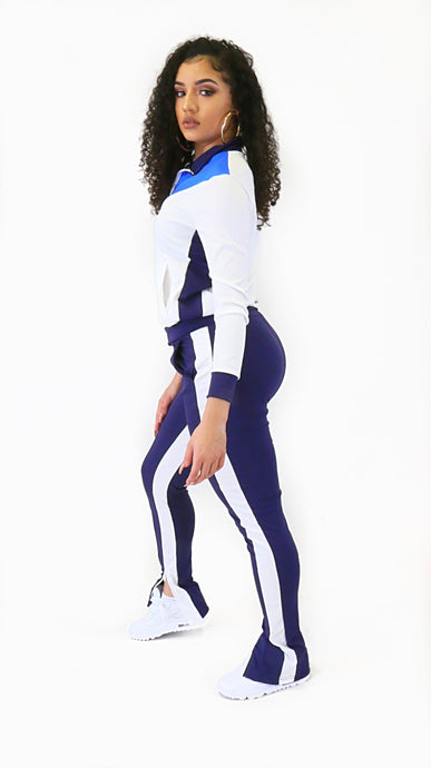 Delta Jogger Set Blue/White
