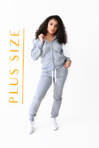PLUS-- Basics Jogger Set