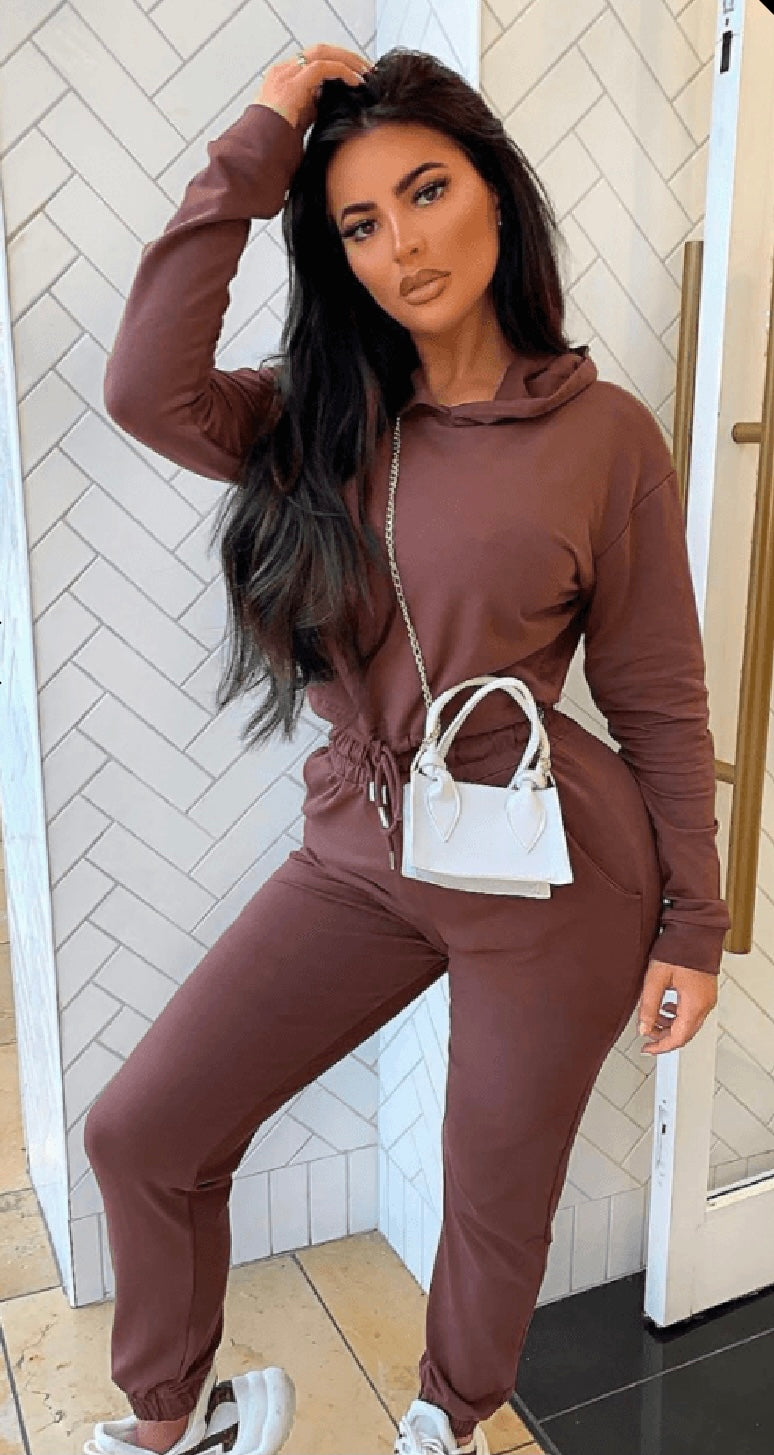 Bramble Jogger Set (Brown)