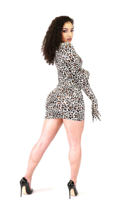 Like a Glove Dress (Cheetah)