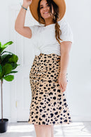 Fiercely Loved Leopard Skirt