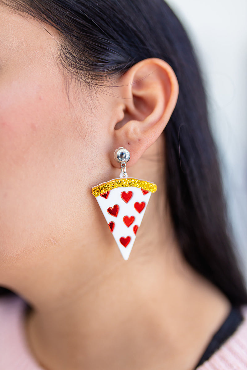 Feed Me Pizza Earrings RESTOCKED***