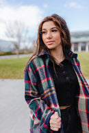 Vagabond Plaid Jacket RESTOCKED*** NOW AVAILABLE IN SIZES SMALL-3X!!***
