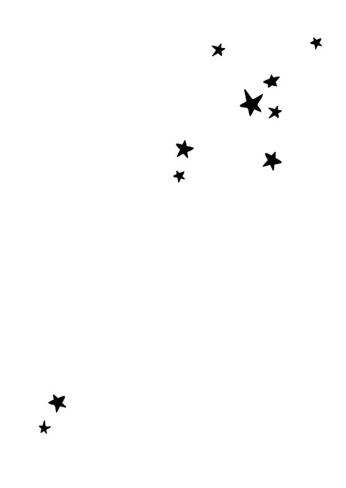 Graphics Edition Postkarte: Stars
