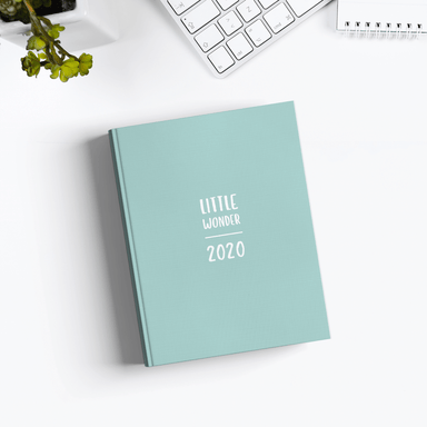 "Kalender ""Little Wonder 2020"" in A6"