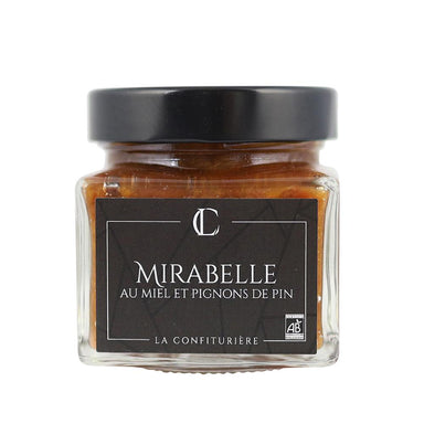 MIRABELLE-PLUM HONEY AND PINE NUTS