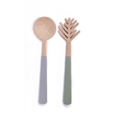 Salad server set PINE NEEDLE
