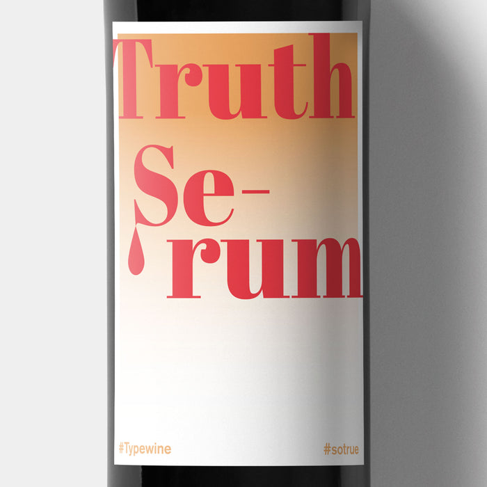 Weinetiketten zur Party - Truth Serum