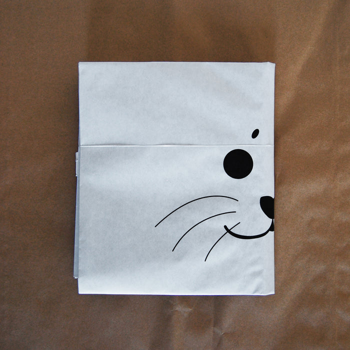 Paper bag - Private flag