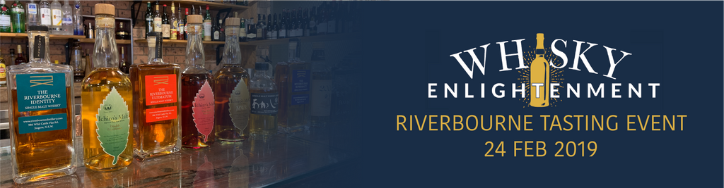 Riverbourne and Japanese Whisky Tasting event - 24 Feb 19