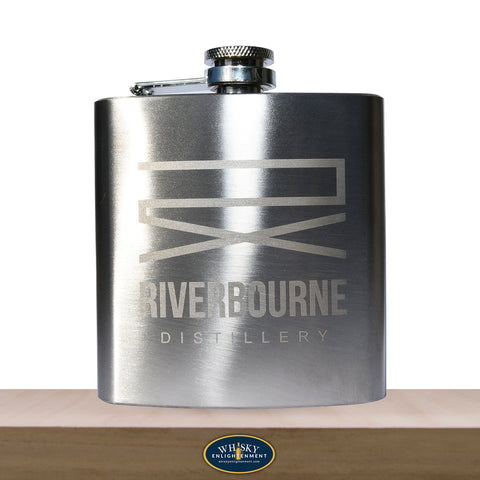 Riverbourne - Hip Flask - 175 ml - whiskyenlightenment