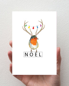 Robin- Christmas Card