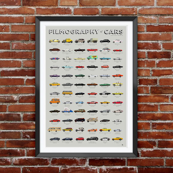 FILMOGRAPHY COLLECTION: CARS