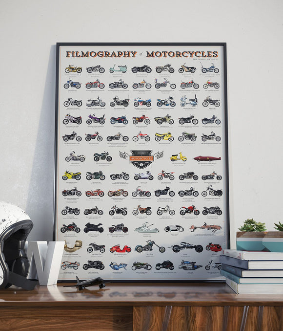 FILMOGRAPHY COLLECTION: MOTORCYCLES