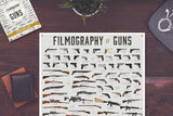 FILMOGRAPHY OF GUNS: FRAMED