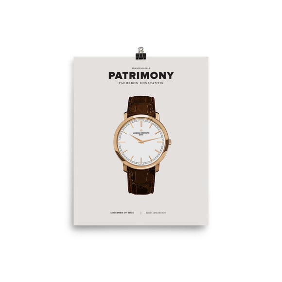 HISTORY OF TIME: PATRIMONY